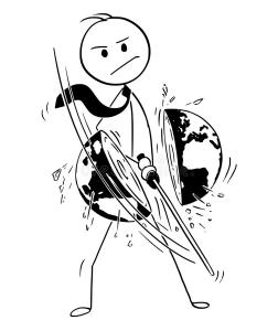 cartoon-stick-man-drawing-conceptual-illustration-samurai-businessman-katana-sword-cutting-world-earth-globe-concept-108242672